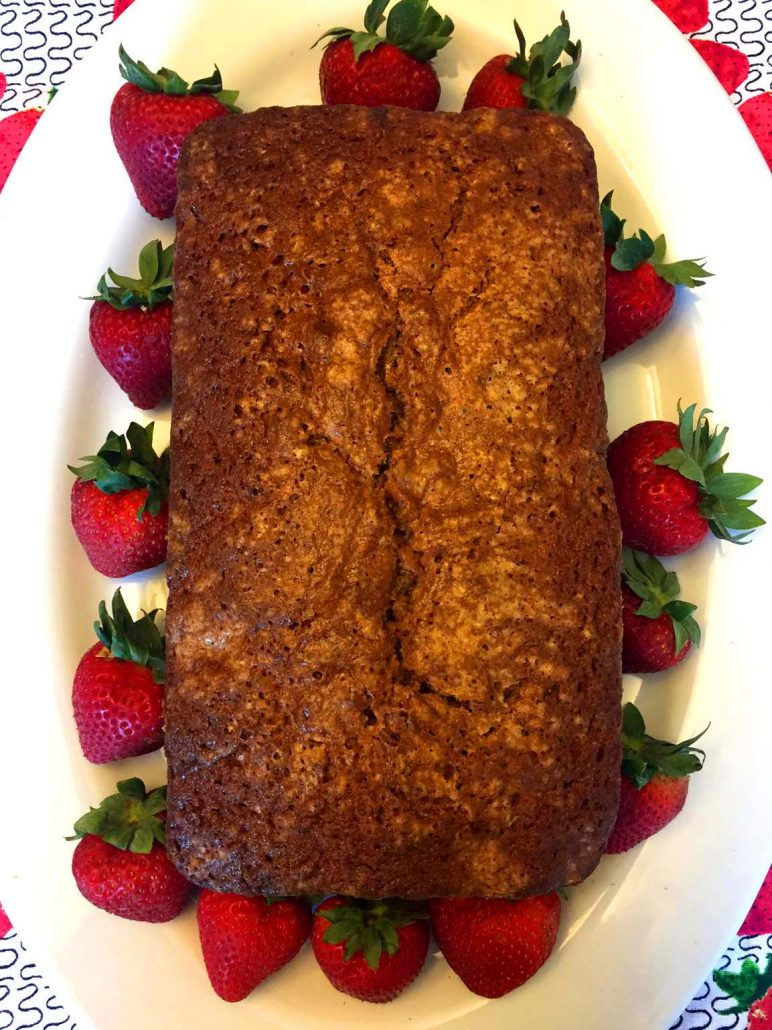 Strawberry Bread Recipe Easy Loaf Cake With Fresh
