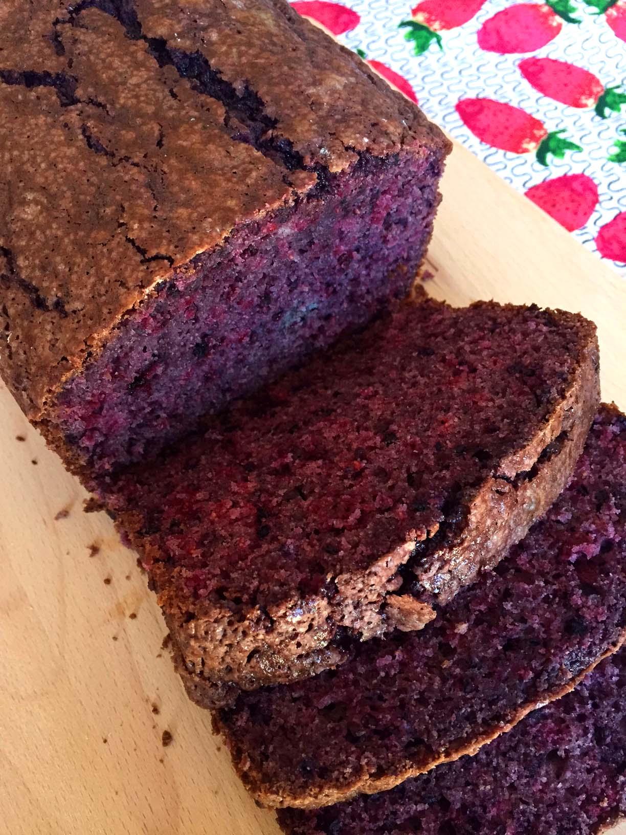 Easy Blackberry Bread Recipe With Fresh Blackberries ...