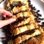 Chocolate Puff Pastry Roll