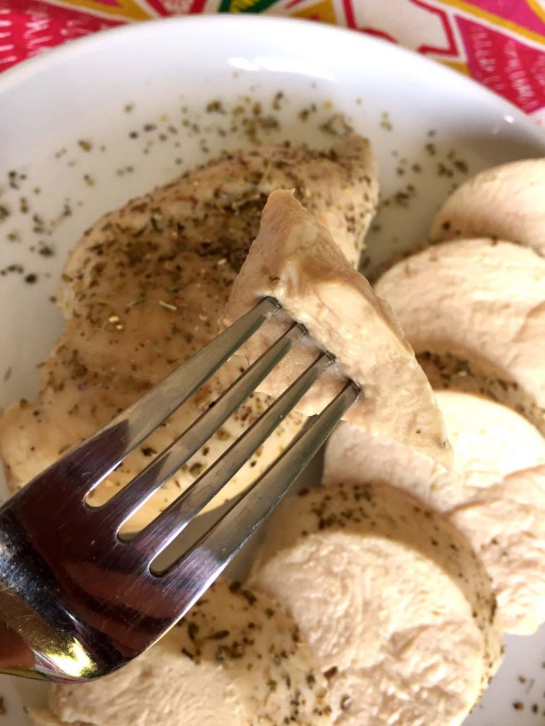 Easy Poached Chicken Breast - So Soft and Tender!