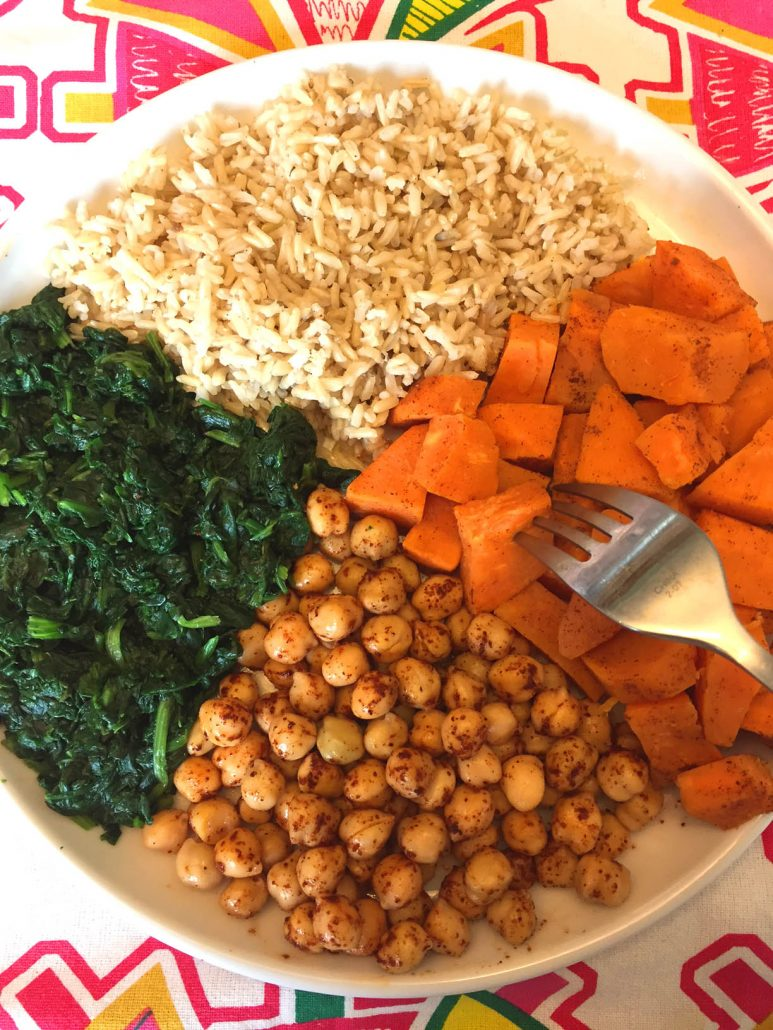 Healthy Vegan Buddah Bowl Recipe
