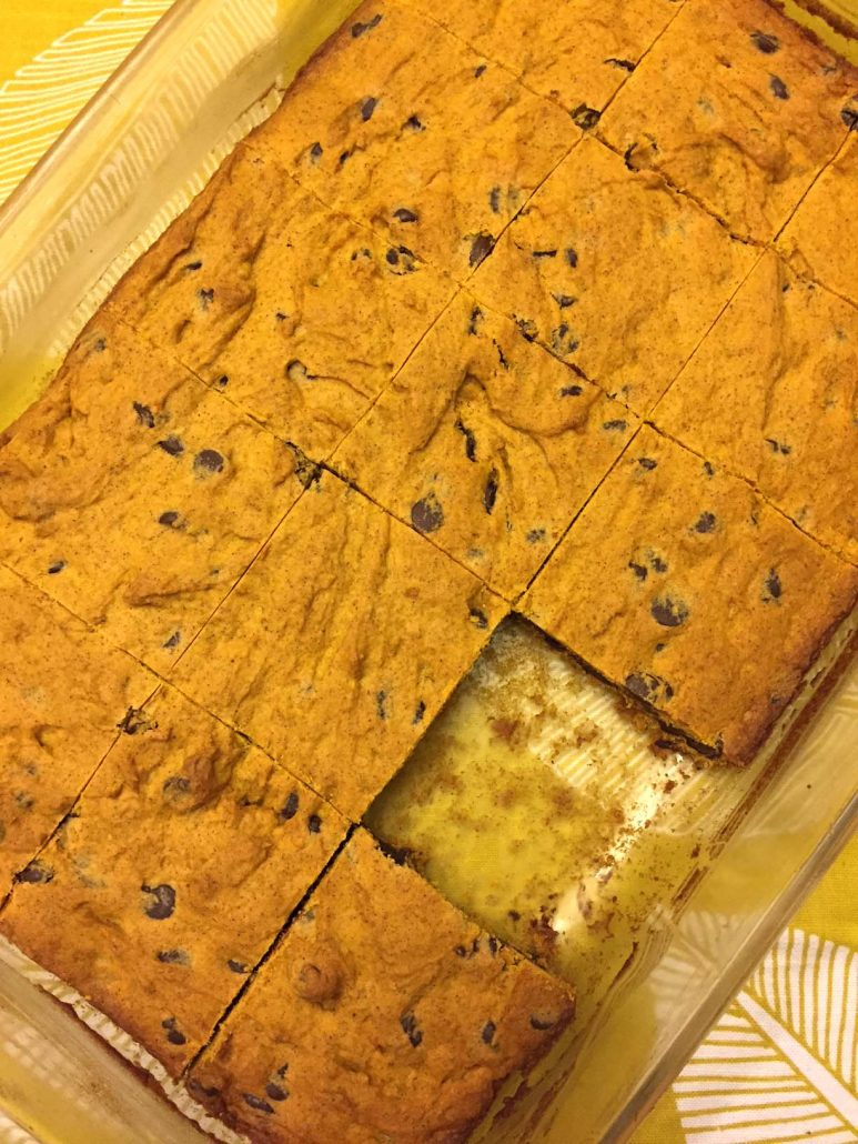 Easy Pumpkin Bars Recipe