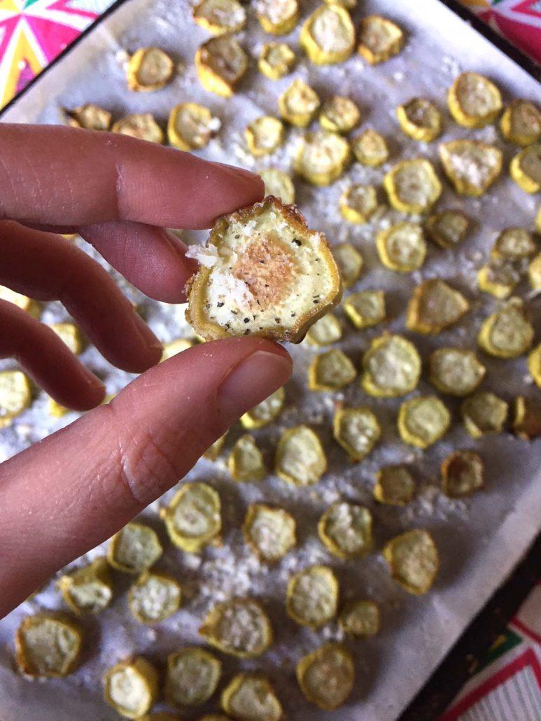 Parmesan Roasted Broccoli Stalks Recipe