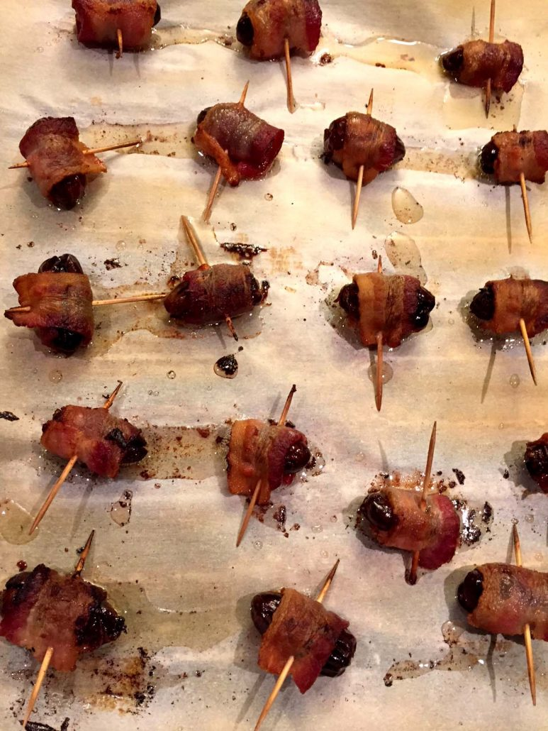 Homemade Bacon Wrapped Dates