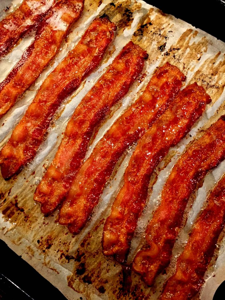 Crispy baked bacon how to cook bacon in the oven melanie cooks crispy baked bacon ccuart Images