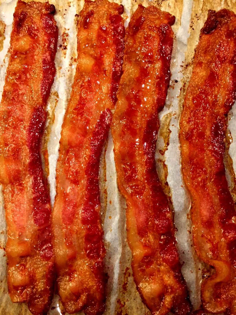 Baked Bacon Strips