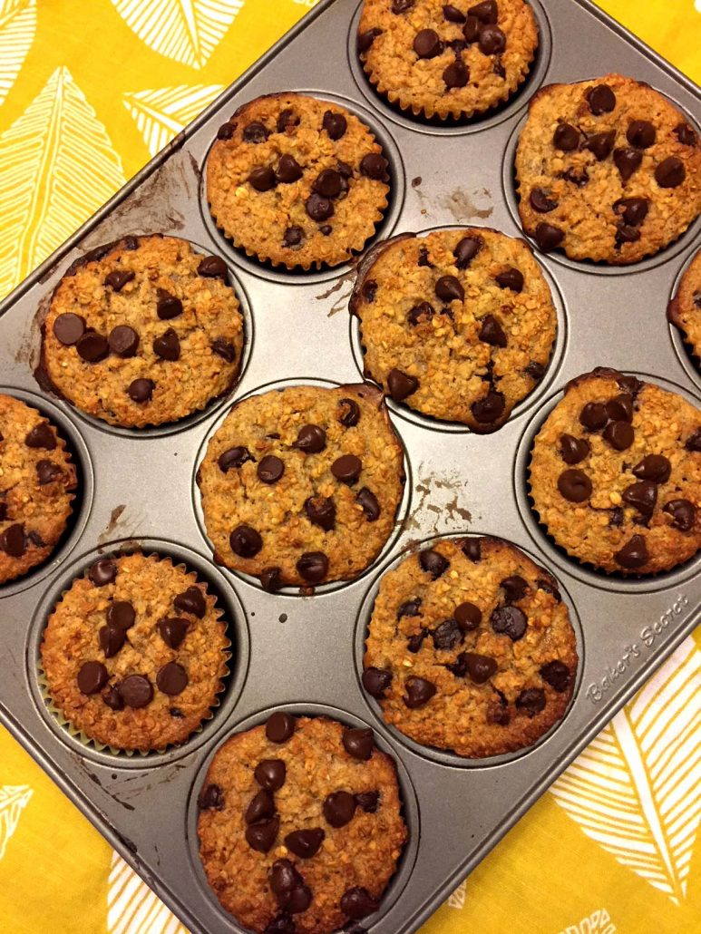 Baked Oatmeal Cupcakes Recipe