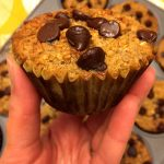 Banana Chocolate Chip Baked Oatmeal Cups Recipe