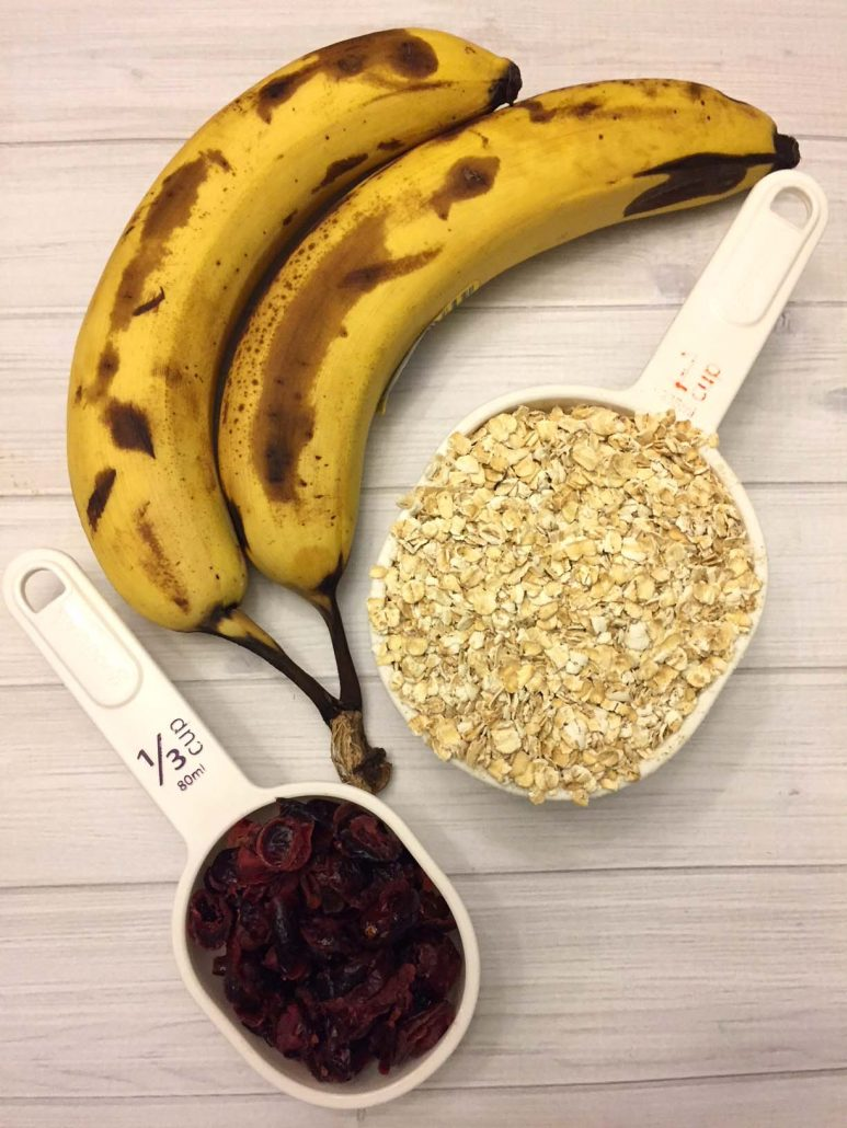 Banana Cookies 3 Ingredients