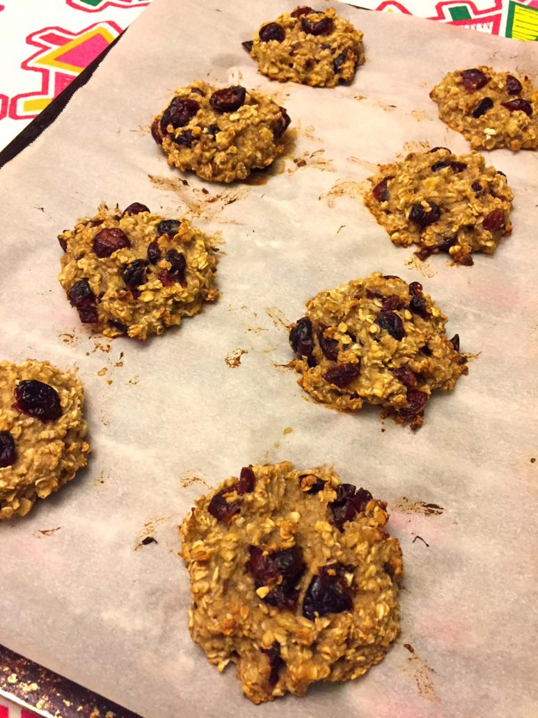 Banana Oatmeal Cookies With 3 Ingredients