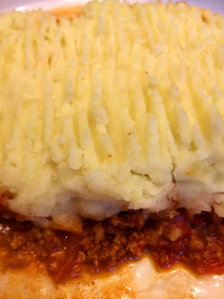 BBQ Shepherd's Pie Comfort Food
