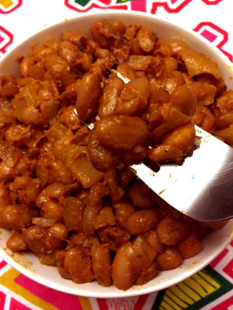 Best Ever Homemade Pinto Beans With Onions