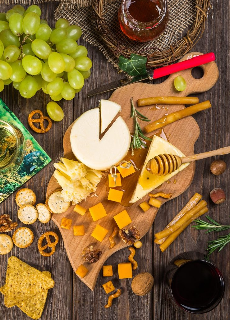 Different Types Of Cheese For Party