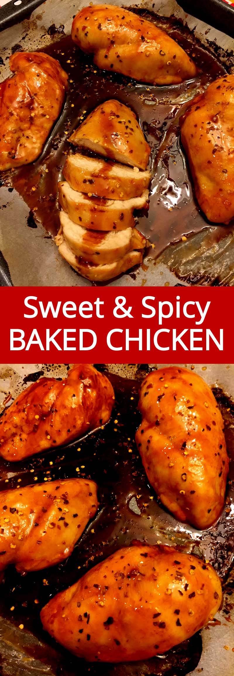 Sweet And Spicy Baked Chicken Breasts Recipe Melanie Cooks