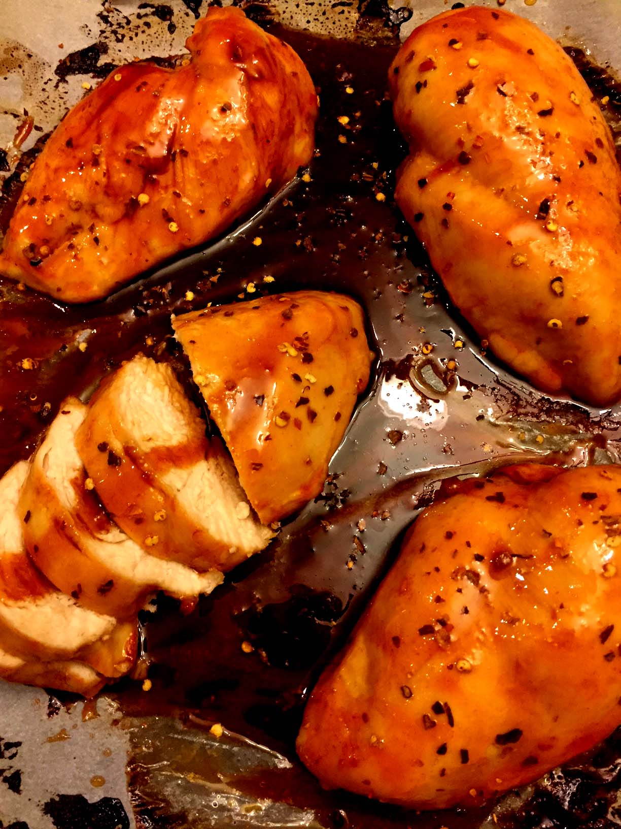 Sweet and Spicy Baked Chicken Breasts Recipe – Melanie Cooks