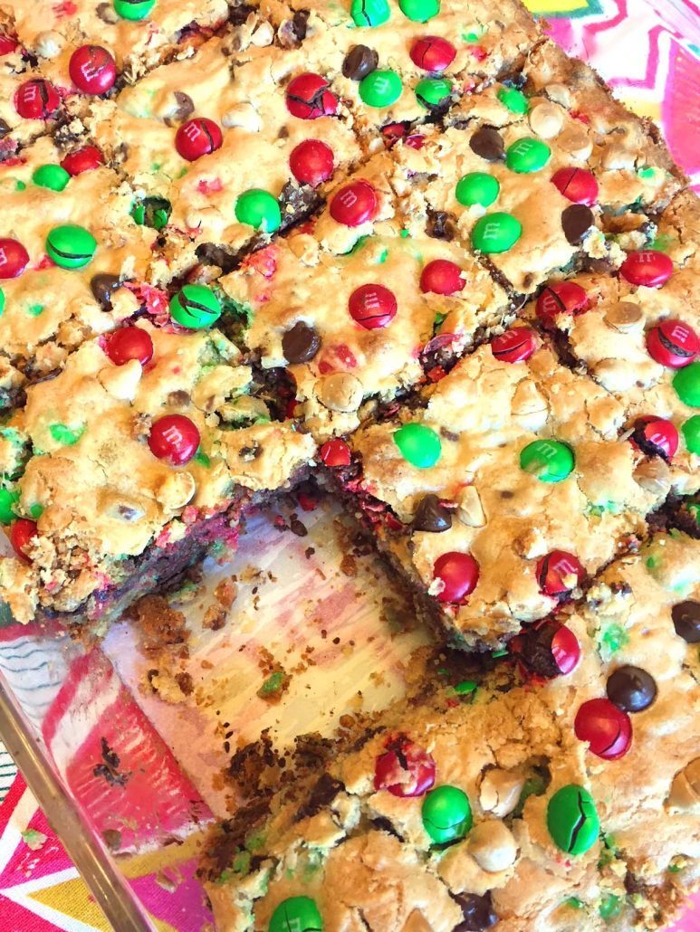 Christmas Red White Green Squares