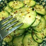 Asian Spicy Sesame Cucumber Salad Recipe