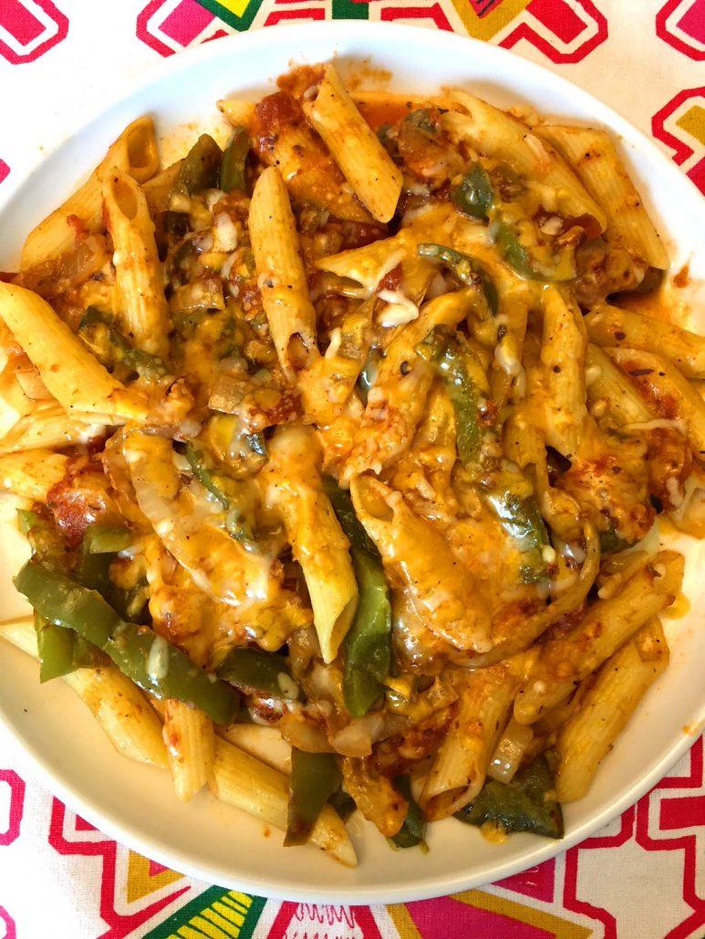 Fajitas Pasta Recipe