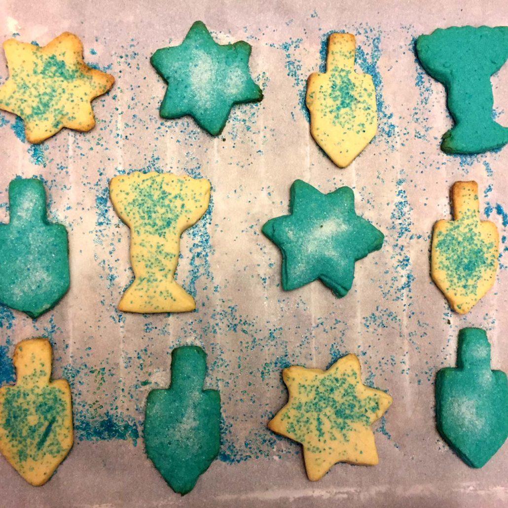 Easy Hanukkah Cookies