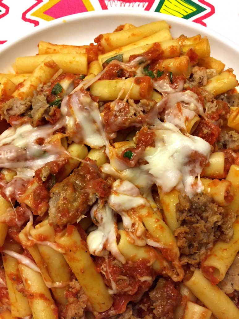 One Pot Pasta With Meat Sauce