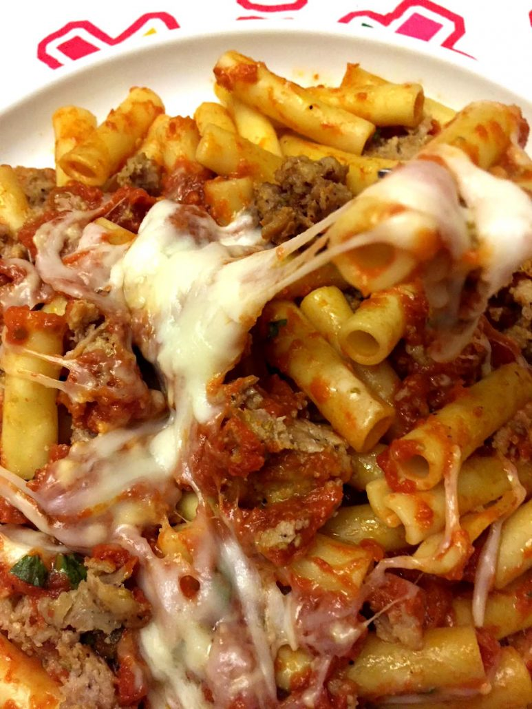 Pasta with meat: simple and tasty 55