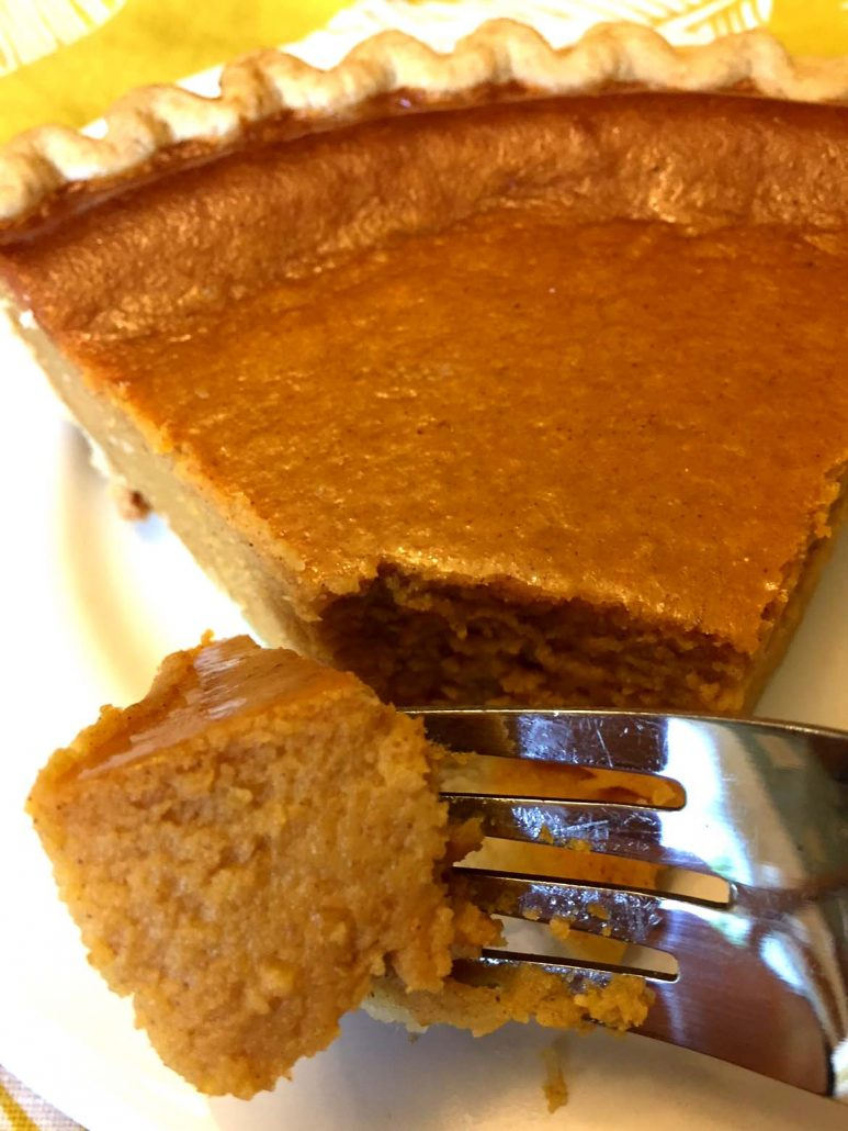 Pumpkin Cheese Cake For  People Recipe