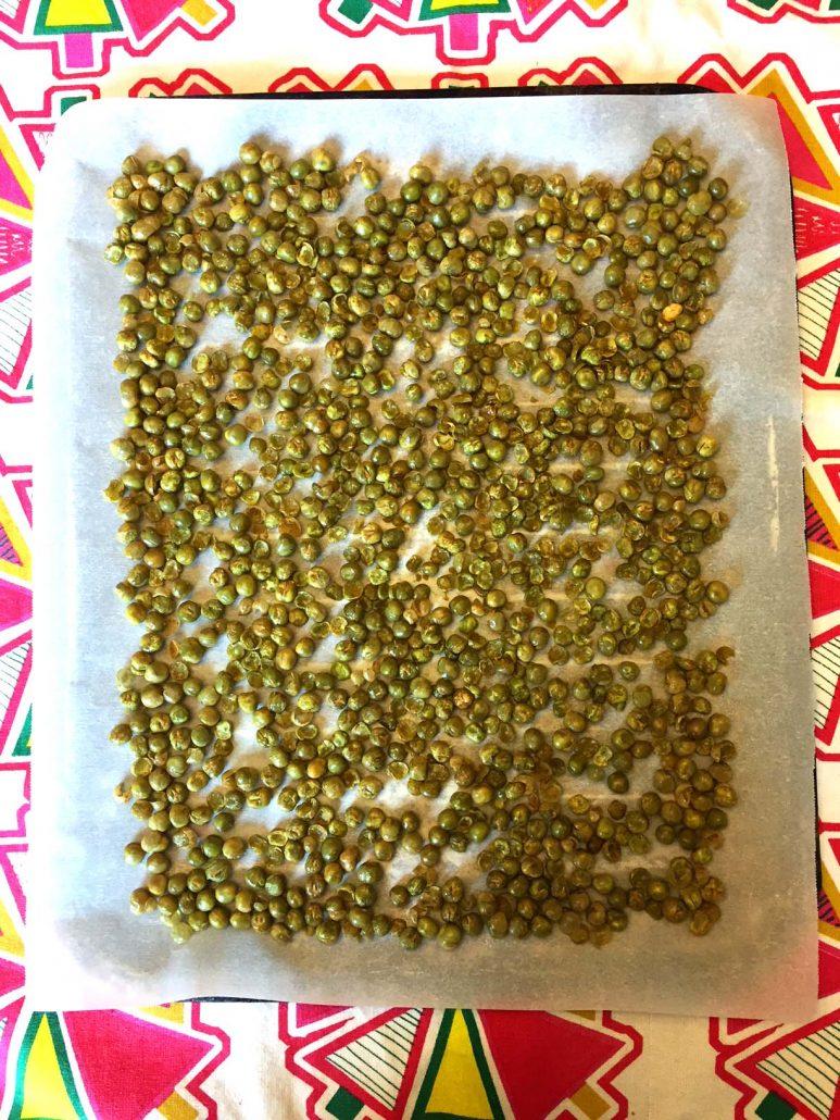 Dry Roasted Peas