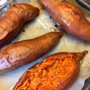 Oven Baked Sweet Potato