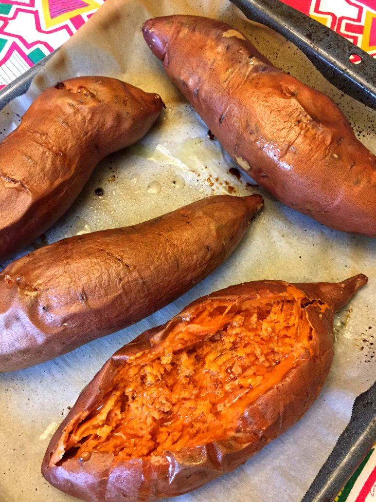 Perfect Oven Baked Sweet Potatoes