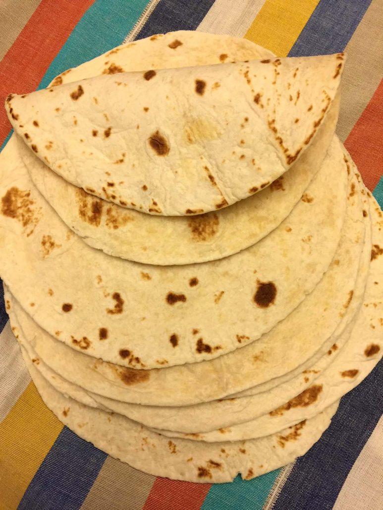 Easy Homemade Mexican Tortillas
