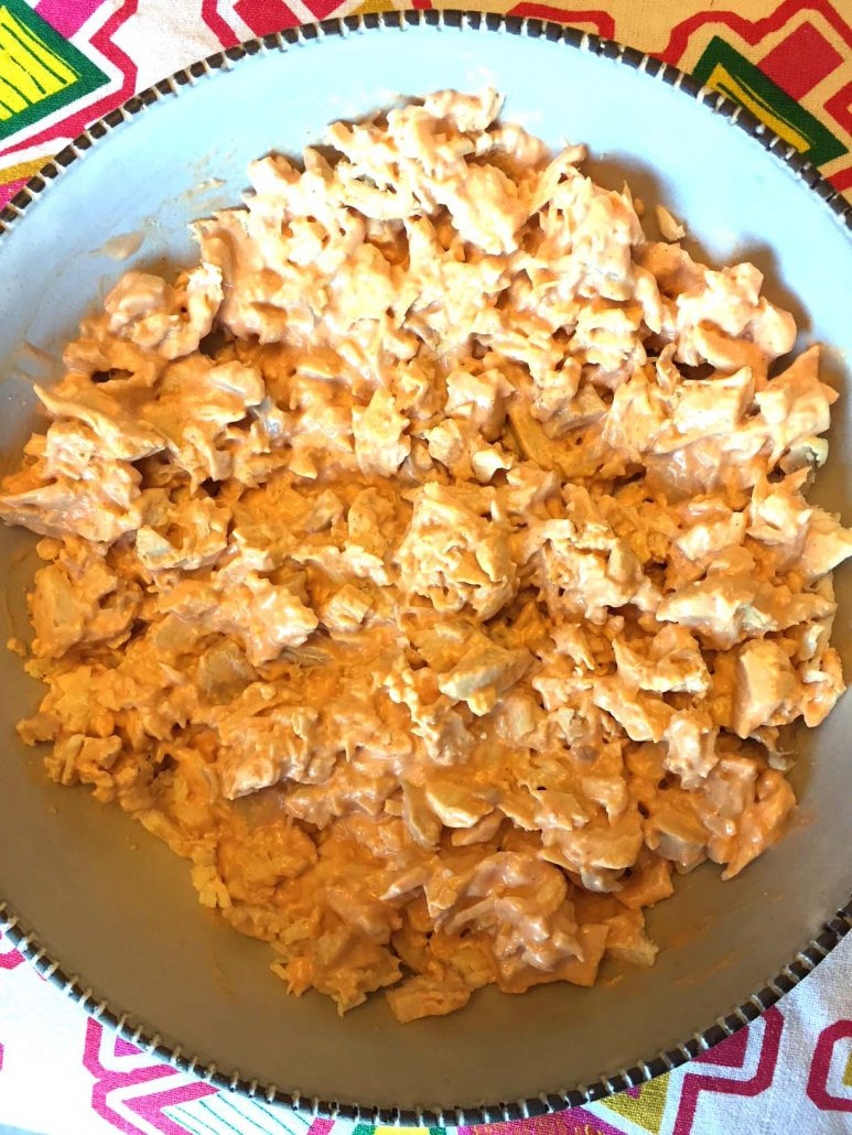 Creamy Buffalo Chicken