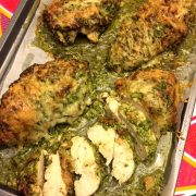 Easy Baked Pesto Parmesan Chicken Recipe