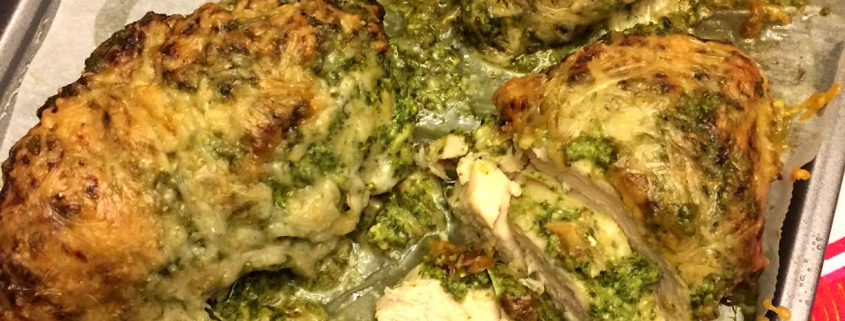 Baked Pesto Chicken Recipe With Parmesan Cheese – Melanie ...