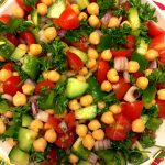 Mediterranean Chickpea Salad Recipe - Simple, Healthy & Vegan!