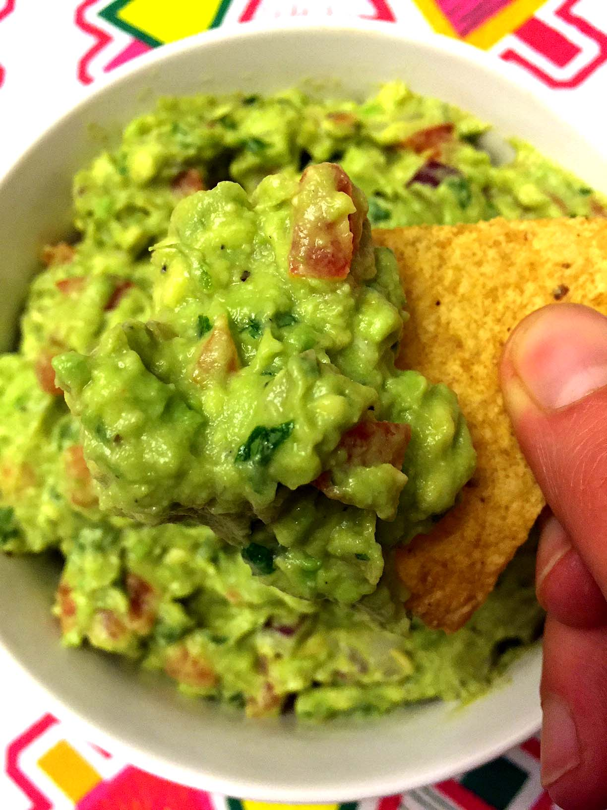 Easy Guacamole Recipe Best Ever Authentic Mexican Restaurant Style Melanie Cooks
