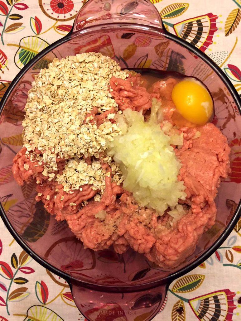 Oatmeal Turkey Meatballs Gluten-Free