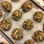 Turkey Spinach Baked Meatballs Recipe (Keto)