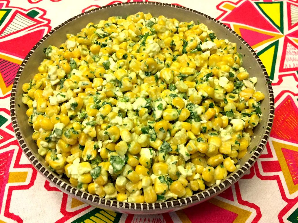 Corn Salad Bowl