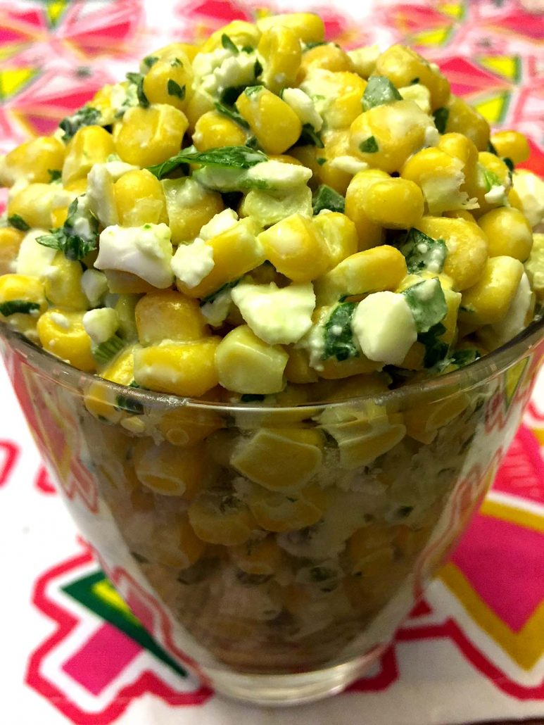 How To Make Mexican Street Corn Salad