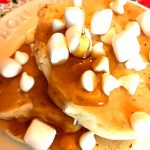 Marshmallow Pancakes With White Chocolate Chips