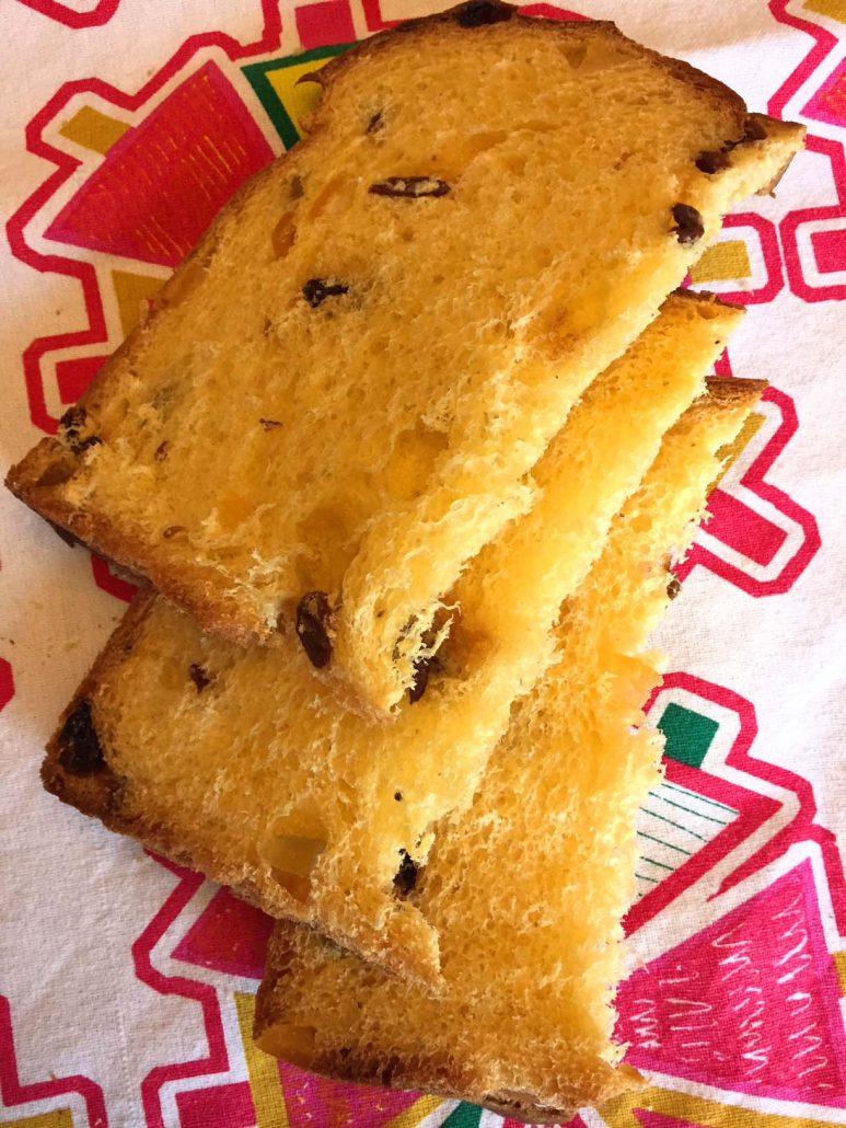 Italian Panettone Bread Fruit Cake Recipe Melanie Cooks