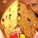 Italian Panettone Bread Fruit Cake Recipe