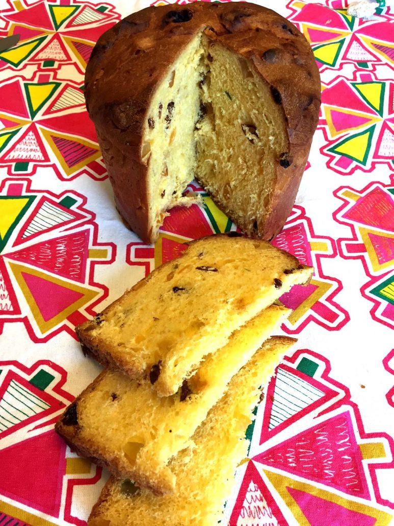 Panettone Christmas Fruit Cake