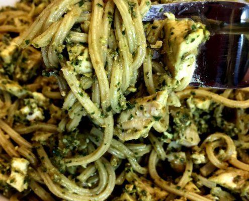 Easy Pesto Pasta Recipe With Chicken