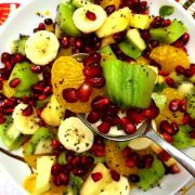 Pomegranate Winter Fruit Salad Recipe