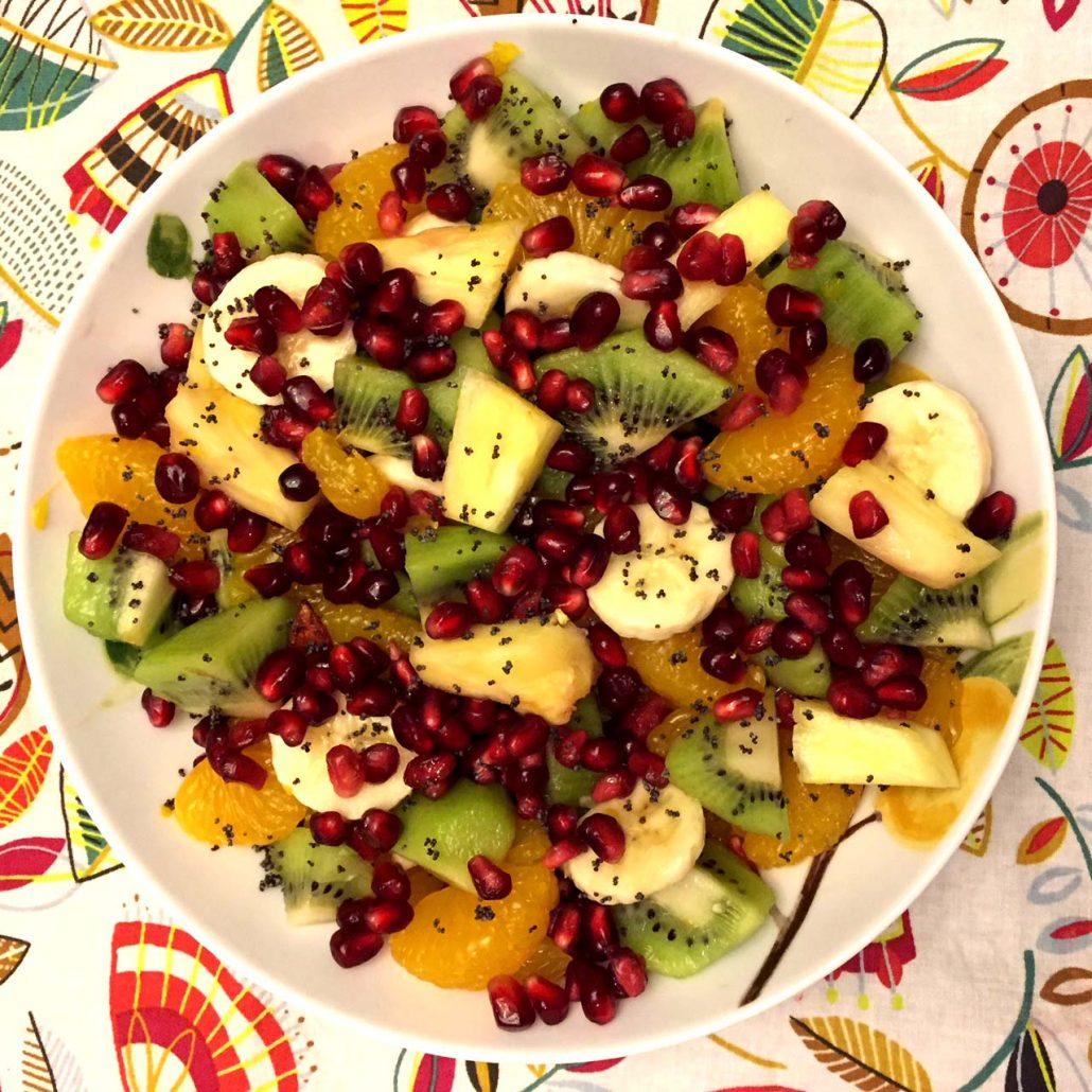 Easy Winter Fruit Salad Recipe