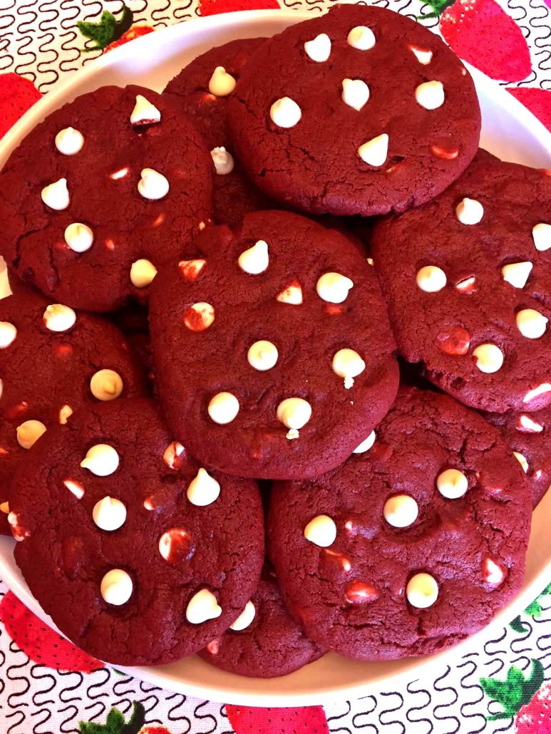 Best Ever Red Velvet Cookies Recipe