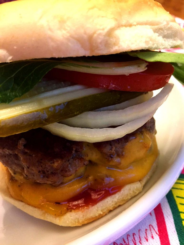 Easy Healthy Turkey Burgers