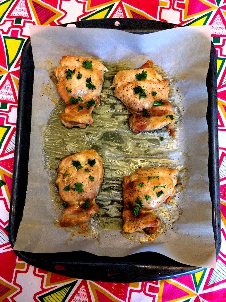 Baked Boneless Skinless Chicken Thighs Recipe Melanie Cooks