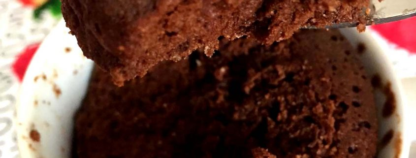 Healthy Gluten-Free Chocolate Mug Cake Recipe